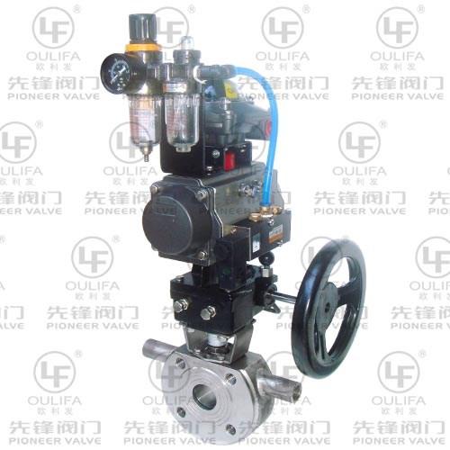 气动薄型保温球阀 BQ673F